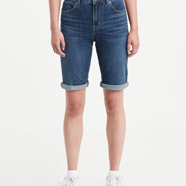Classic Bermuda Jean Shorts