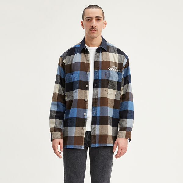 Long Sleeve Overshirt