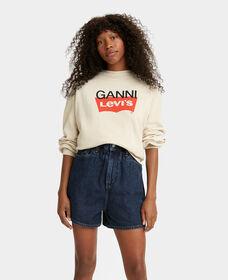 Levi's® x GANNI Snapback Fleece Sweatshirt