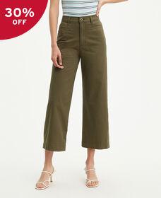 Ribcage Wide Leg Cropped Pants
