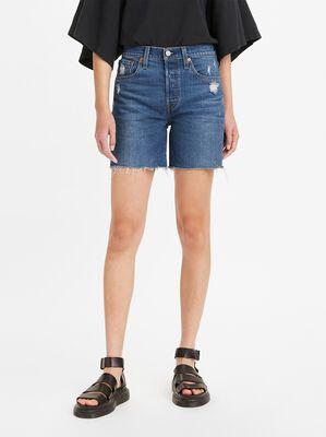 501® Original High-Rise Mid-Thigh Jean Shorts