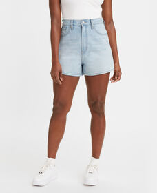 High Loose Denim Shorts