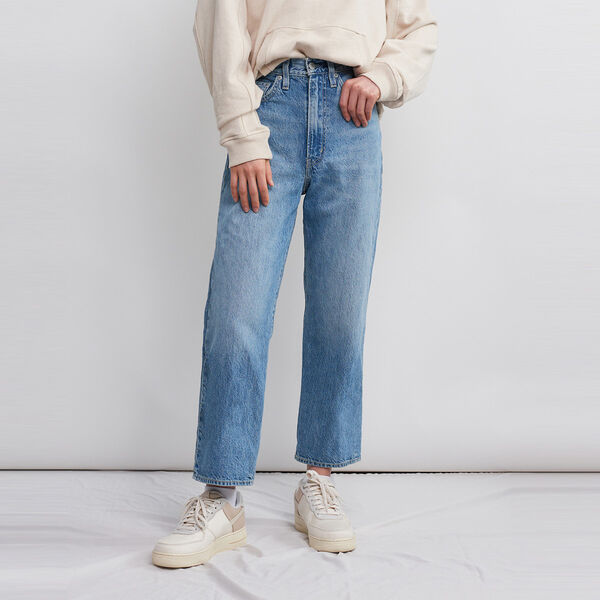 WellThread™ Ribcage Straight Ankle Jeans