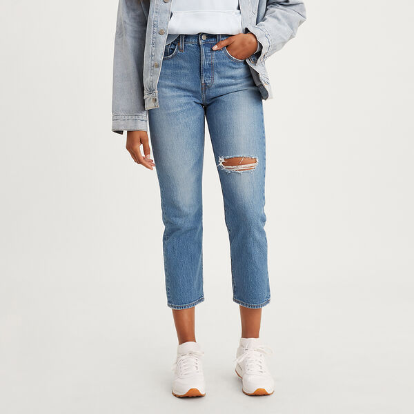 Wedgie Fit Straight Jeans