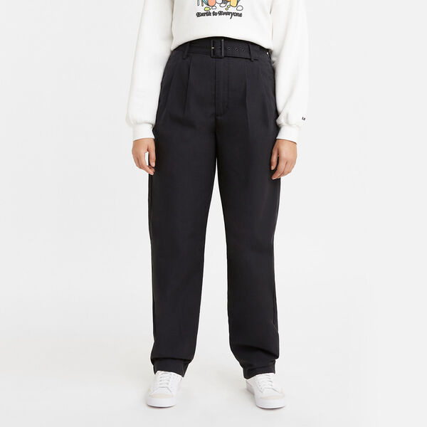 Tailored High Loose Taper Pants