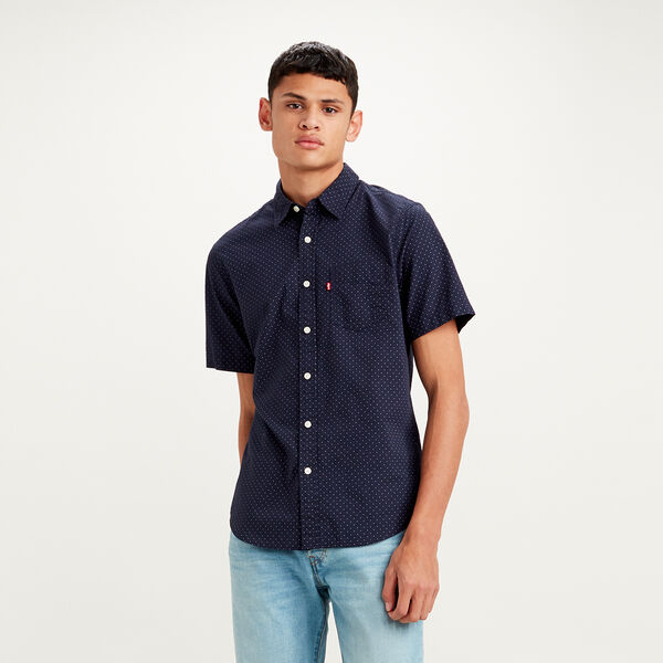 Classic 1 Pocket Shorts Sleeve Shirt
