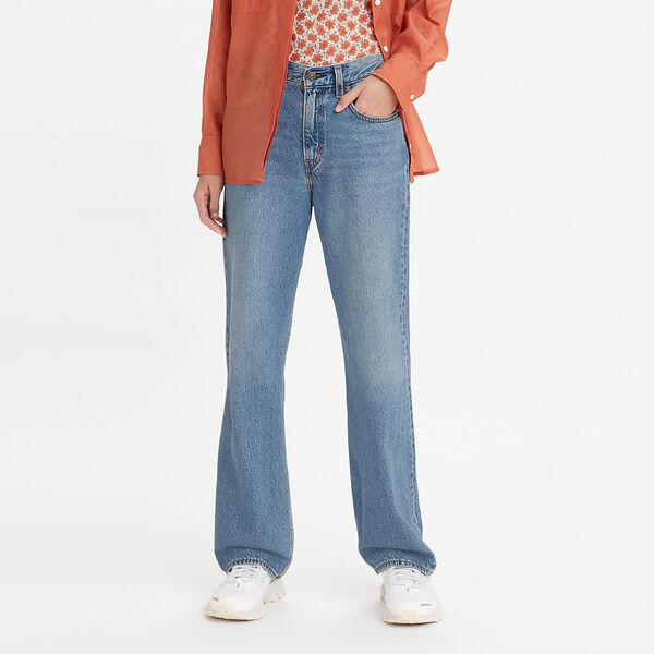 Loose Straight Jeans