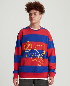 Levi's® x Peanuts® Striped Relaxed Crewneck Sweatshirt