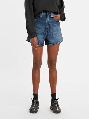 High Loose Jean Shorts