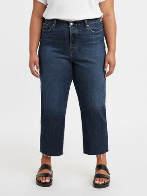Wedgie Straight Jeans (Plus Size)