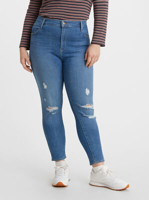 720 High-Rise Super Skinny Jeans (Plus Size)