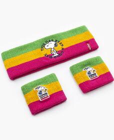 Levi's® x Peanuts® Sweatband & Wrist Cuffs Gift Set