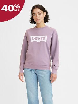 Relaxed Crewneck Sweatshirt