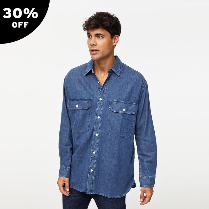 Oversized Classic Worker Overshirt