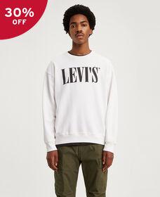 Oversized Graphic Crewneck Sweatshirt