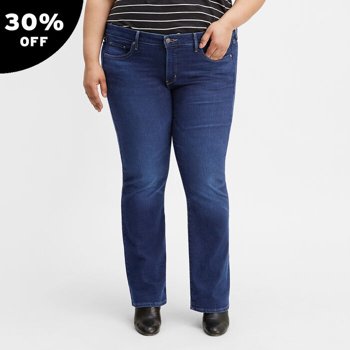 315 Shaping Boot Cut Jeans (Plus Size)