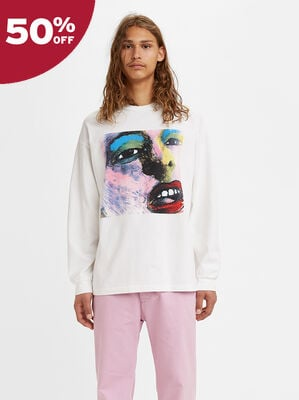 Levi's® Vintage Clothing 80's Long Sleeve Graphic Tee