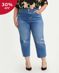 501® Original Cropped Jeans (Plus Size)