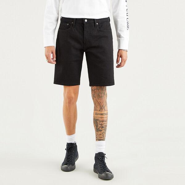 Standard Fit Denim Shorts