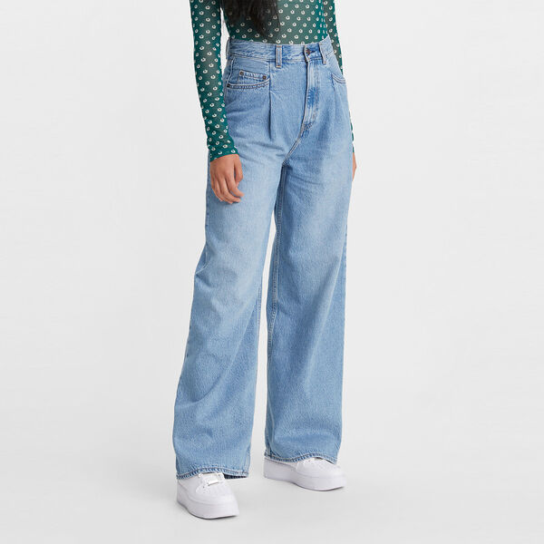 Tailored High Loose Jeans