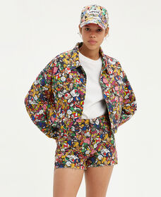 Levi's® X Super Mario™ Cropped Dad Trucker Jacket