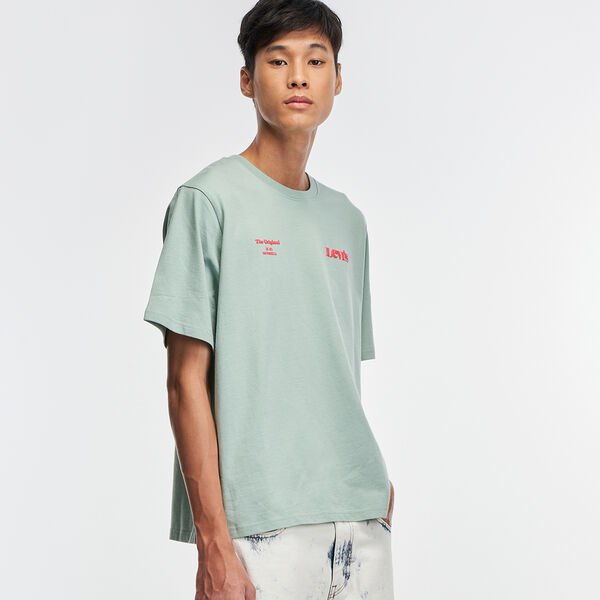 Relaxed Fit Short Sleeve T-Shirt
