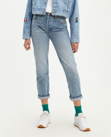 Levi's® X Super Mario™ 501® Original Cropped Selvedge Jeans