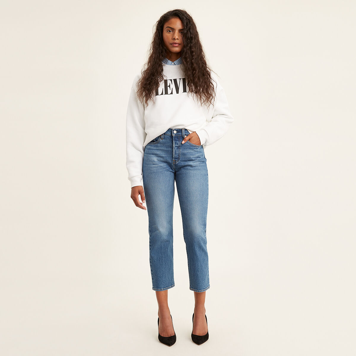 Wedgie Fit Straight Jeans Jive Sound