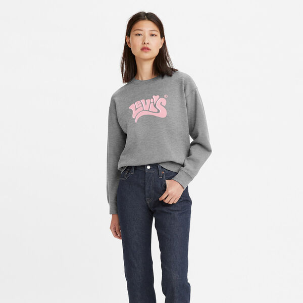 Vintage Raglan Crew Sweatshirt