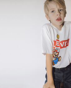 Big Boys Levi's® X Super Mario™ Graphic Tee Shirt