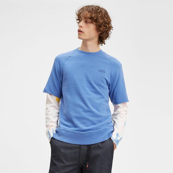 Crewneck Cutoff Sweatshirt