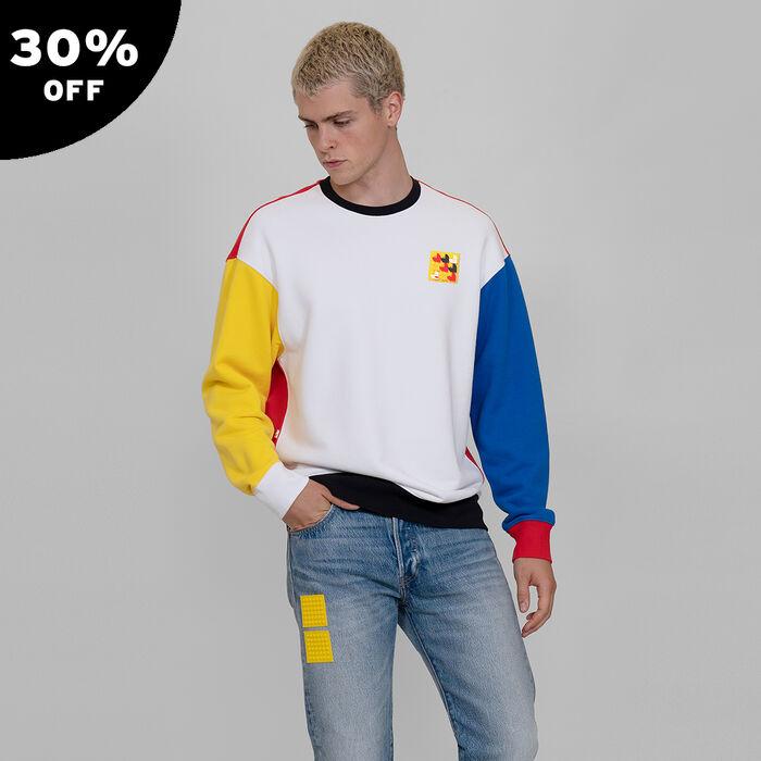 LEGO® Group x Levi's® Men's Relaxed Crewneck Sweatshirt
