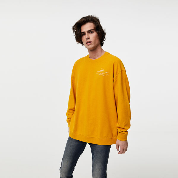 Long Sleeve Relaxed Crewneck Tee