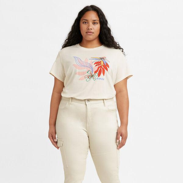 Graphic Varsity T-Shirt (Plus Size)