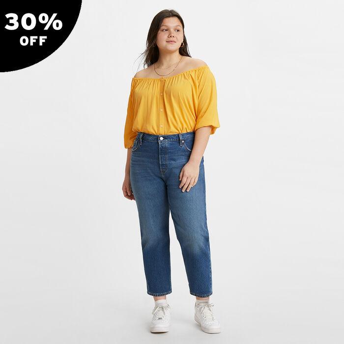 501® Original Cropped Jeans (Plus Size)
