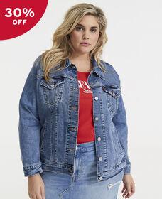 Ex-Boyfriend Trucker Jacket (Plus Size)