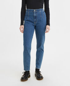 Hollywood High-Waisted Taper Jeans