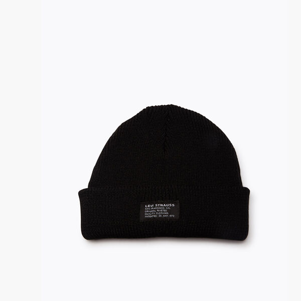 Knitted Cropped Beanie