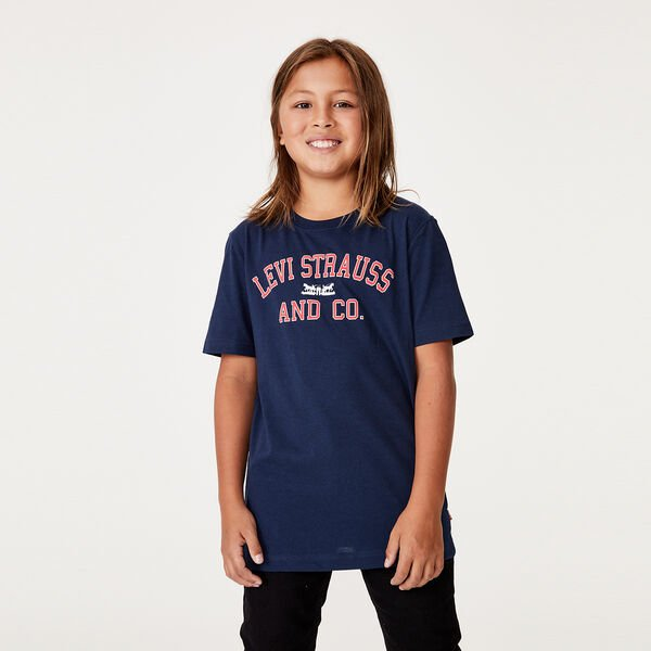 Boys Logo Graphic Tee Shirt