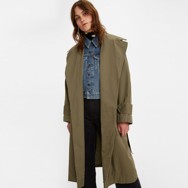 Lenora Trench Coat