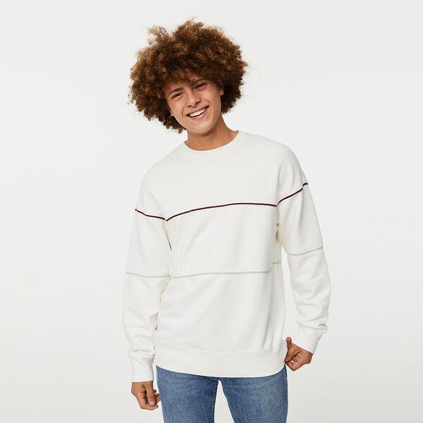Relaxed Novelty Crewneck Sweatshirt