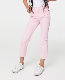Big Girls (7-16) High Rise Ankle Straight Jeans