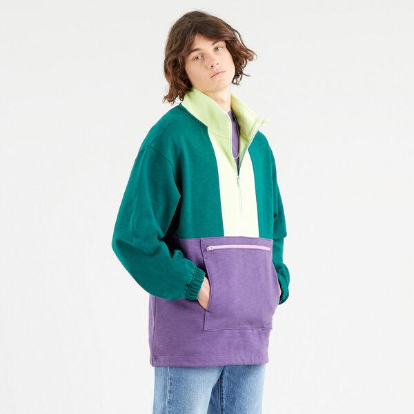 Quarter Zip-Up Fleece