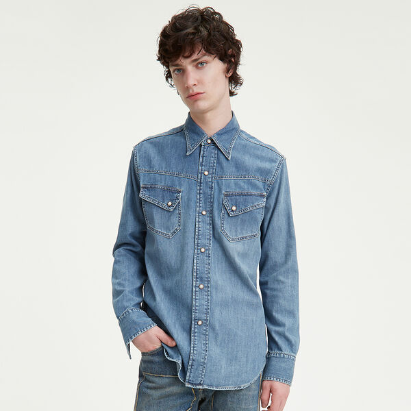 Levi's® Vintage Clothing 1950's Western Denim Shirt