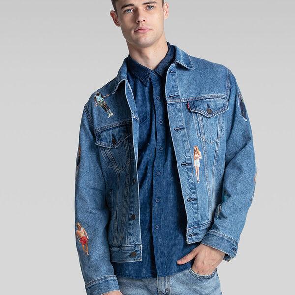 Levi's® x Stranger Things Vintage Fit Trucker Jacket