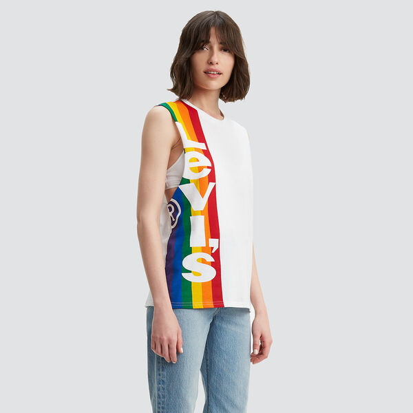 Pride Graphic Cutoff Tee