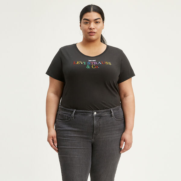 Perfect Graphic Tee (Plus Size)