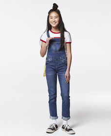 Girls 7‑16 Girlfriend Overalls
