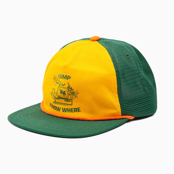 c6b212cc0d1eb Levi's® x Stranger Things Camp Know Where Cap in Stranger Things Green.