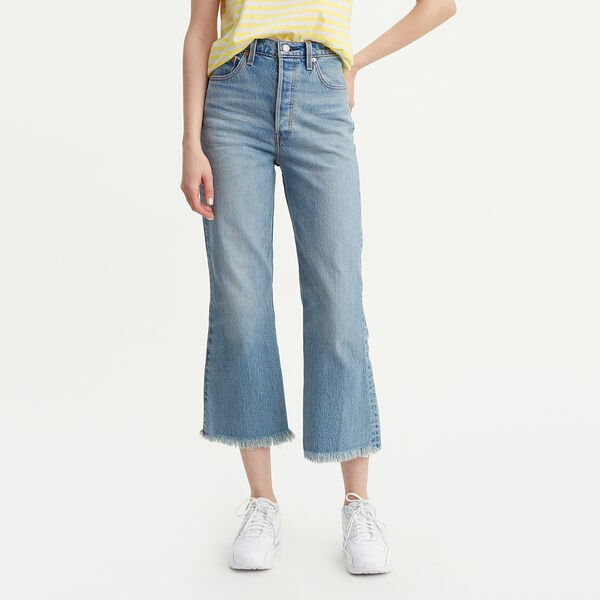 Ribcage Crop Flare Jeans
